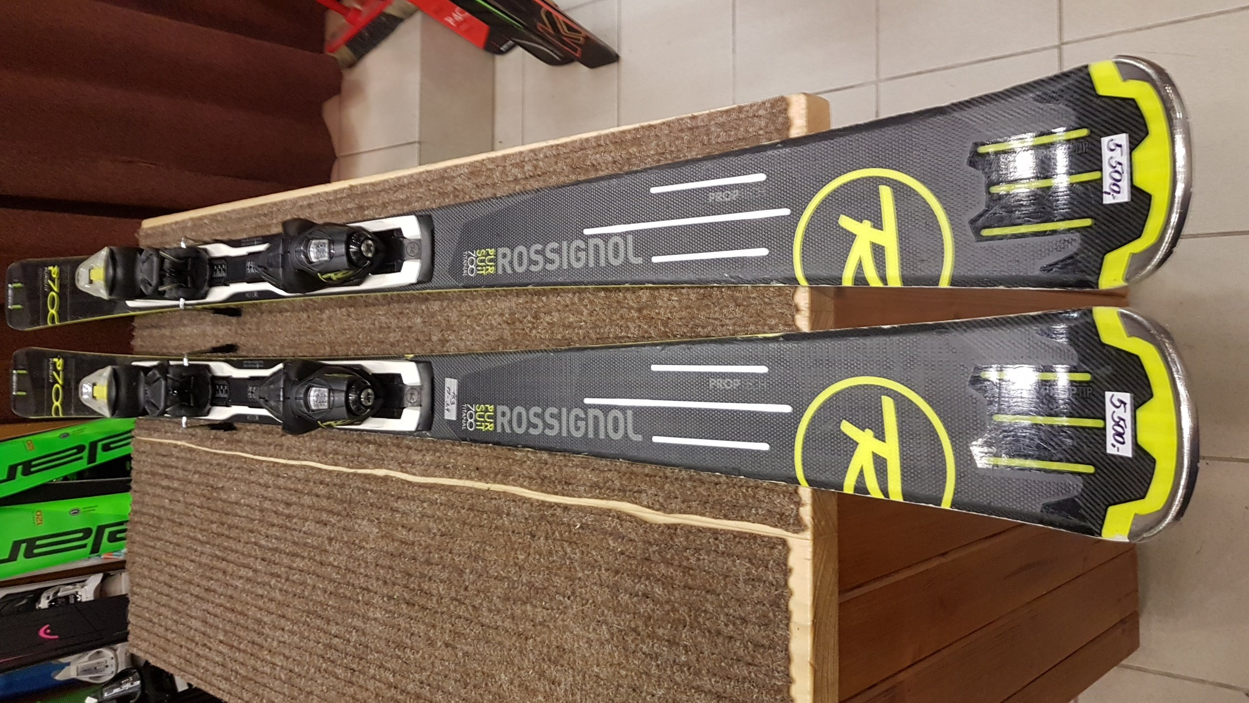 Rossignol Pursuit 700 + Axium 12 16/17 163cm