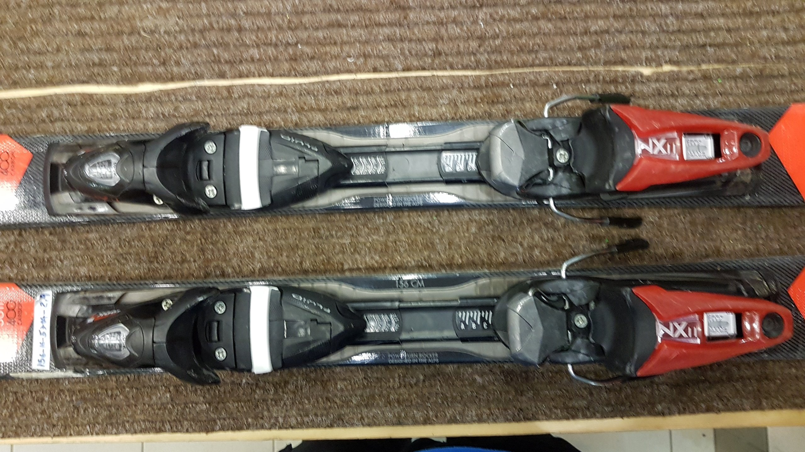 Rossignol Pursuit 400 + Axium 11 16/17 156cm