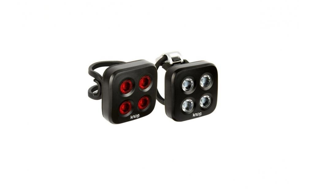 KNOG Blinder MOB Twinpack The Face Black - set